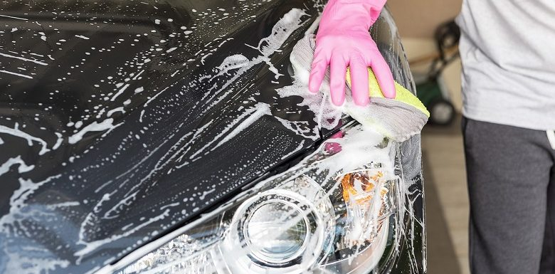 rengöring bil
